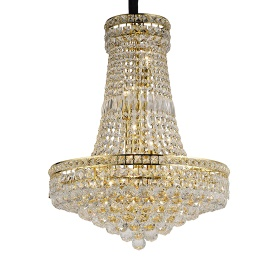 Frances Crystal Ceiling Lights Diyas Traditional Chandeliers