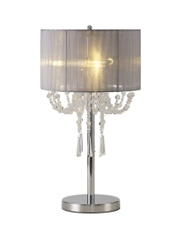 Freida Crystal Table Lamps Diyas Modern Crystal Table Lamps