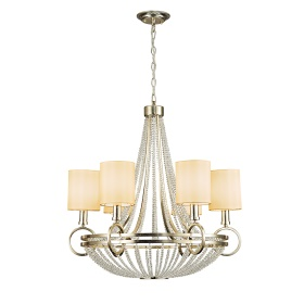 Isabella Crystal Ceiling Lights Diyas Contemporary Chandeliers