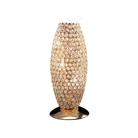Kos Crystal Table Lamps Diyas Contemporary Crystal Table Lamps