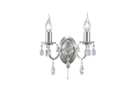 Kyra Crystal Wall Lights Diyas Contemporary Crystal Wall Lights