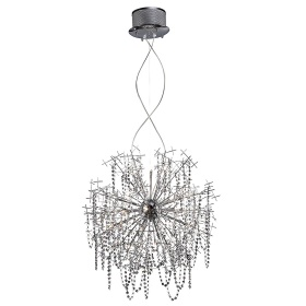 Lexi Crystal Ceiling Lights Diyas Modern Chandeliers
