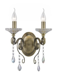 Libra Crystal Wall Lights Diyas Traditional Crystal Wall Lights