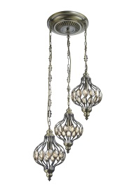 Marisa Crystal Ceiling Lights Diyas Multiple Crystal Pendants