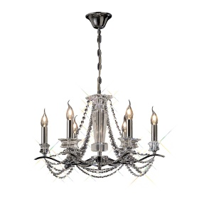 Nydia Crystal Ceiling Lights Diyas Contemporary Chandeliers