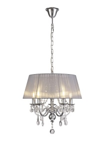 Olivia Crystal Ceiling Lights Diyas Contemporary Crystal Ceiling Lights