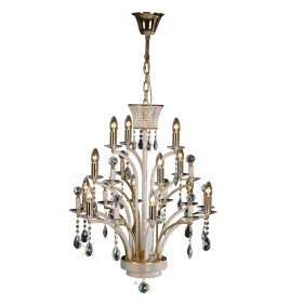 Orlando Crystal Ceiling Lights Diyas Contemporary Chandeliers