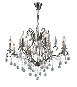 Pescara Crystal Ceiling Lights Diyas Contemporary Chandeliers
