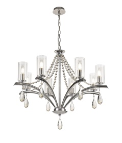 Rhea Crystal Ceiling Lights Diyas Contemporary Crystal Ceiling Lights