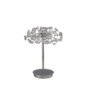 Savanna Crystal Table Lamps Diyas Modern Crystal Table Lamps