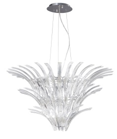 Sinclair Crystal Ceiling Lights Diyas Modern Chandeliers
