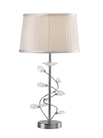 Willow Crystal Table Lamps Diyas Contemporary Crystal Table Lamps