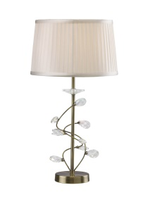Willow Crystal Table Lamps Diyas Traditional Crystal Table Lamps
