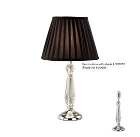 Zina Crystal Table Lamps Diyas Contemporary Crystal Table Lamps
