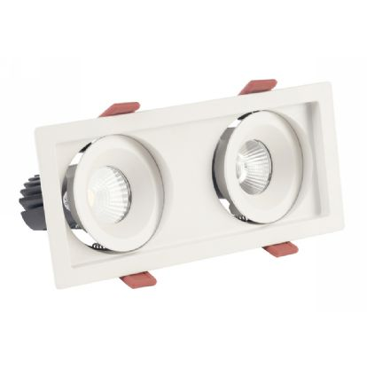 BEZZ 12-2 Recessed Ceiling Luminaires Dlux Multi-Head Recess Ceiling
