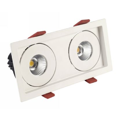 BIZZ 12-2 Recessed Ceiling Luminaires Dlux Multi-Head Recess Ceiling