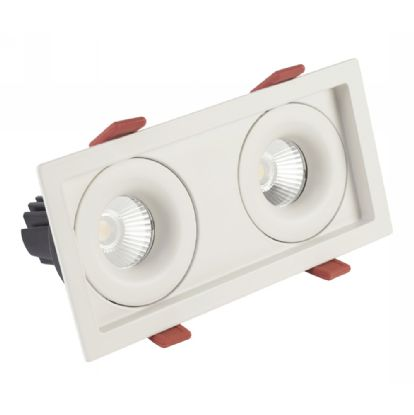 BUZZ 12-2 Recessed Ceiling Luminaires Dlux Multi-Head Recess Ceiling