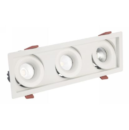 BUZZ 12-3 Recessed Ceiling Luminaires Dlux Multi-Head Recess Ceiling