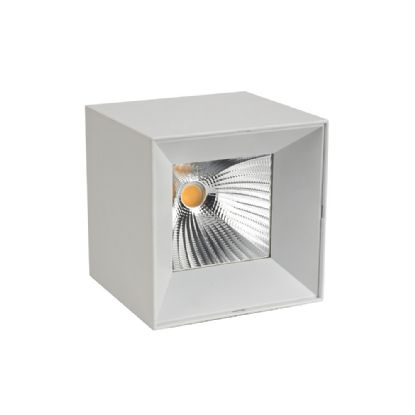 DL300156  Eox 15; 15W Surface LED Spotlight 1050lm 25° 3000K IP20