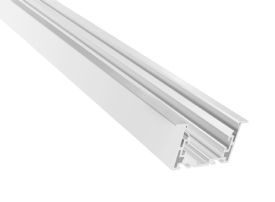 DA900046  2.5m White Aluminum 6063 Profile For LED 69mm x 35mm