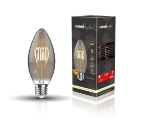 4600021  Classic Style LED Candle E27 Dimmable 3W 2100K 120lm