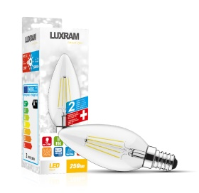 Value Classic LED Lamps Luxram Candle
