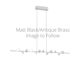 M6262MB  AdnLinear Pendant 12 Light 36W LED
