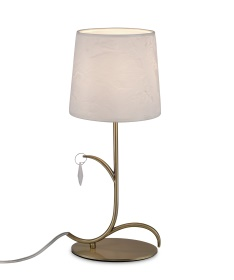 Andrea Table Lamps Mantra Contemporary Table Lamps