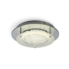 Crystal LED Crystal Ceiling Lights Mantra Fusion Flush Crystal Fittings