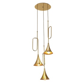 Jazz Oro Ceiling Lights Mantra Multiple Pendant