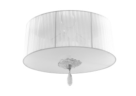 Louise Ceiling Lights Mantra Flush Fittings