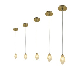Pietra AB Ceiling Lights Mantra Single Pendant