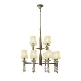 Tiffany AB Crystal Ceiling Lights Mantra Contemporary Chandeliers
