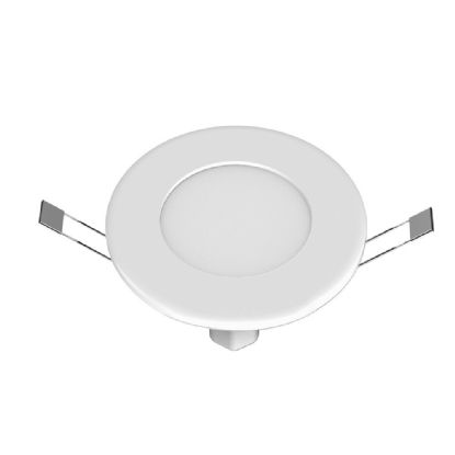 Intego Ultra-slim Recessed Ceiling Luminaires Techtouch Round Recess Ceiling