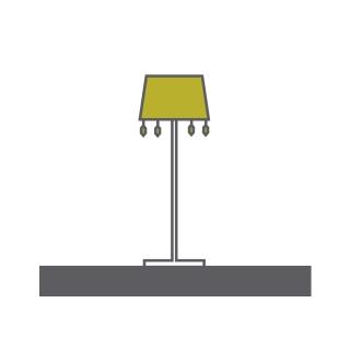 Tiffany Crystal Floor Lamps Mantra Contemporary Crystal Floor Lamps