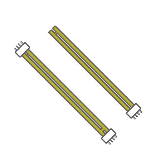 Bona-L Fluorescent w/o Ballast Luxram Linear